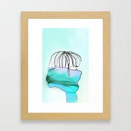 Wind Chill Framed Art Print