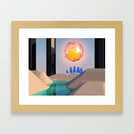 Checkpoint 2 Framed Art Print