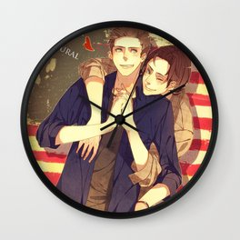 SUPERNATURAL SAM DEAN Wall Clock