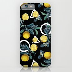 Geometric and Lemon pattern II Slim Case iPhone 6