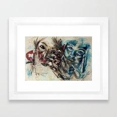 Inner Inertia Framed Art Print