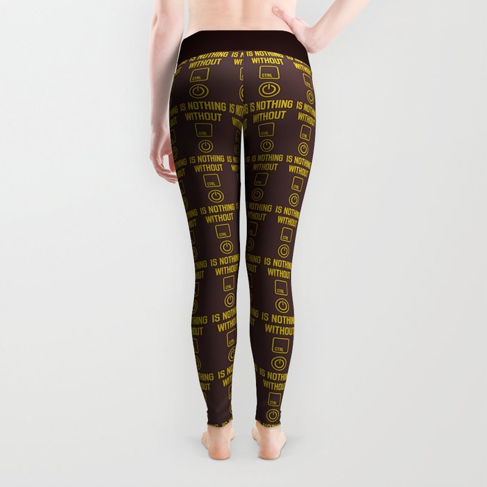 Power is nothing without Control Leggings