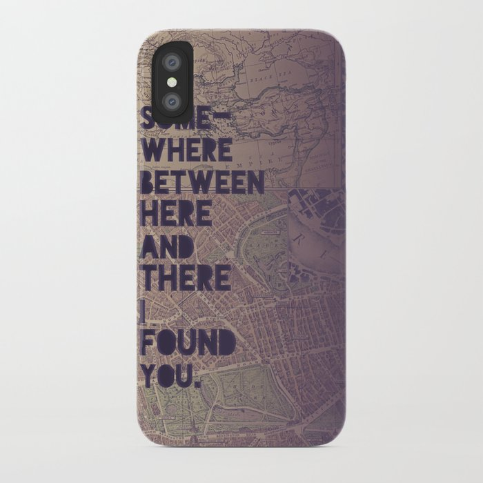 Here & There iPhone Case
