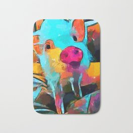 Mini Pig Bath Mat