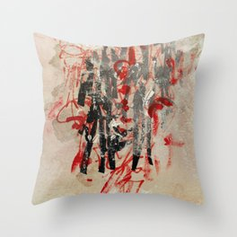 just like anything Throw Pillow