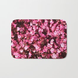Pink Flower Power Bath Mat