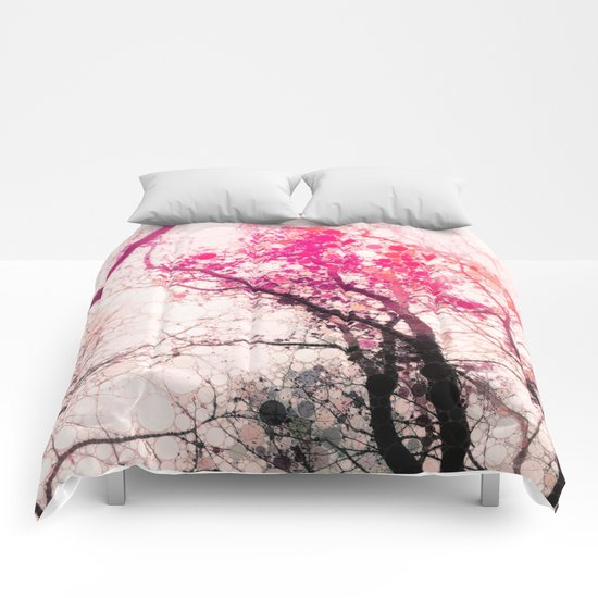 Tree Silhouette 2 Comforters
