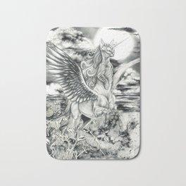 Alicorn Sphynx Bath Mat