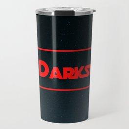 #Darkside Hashtag Text | Fan Art Graphics Design Travel Mug
