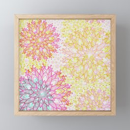 Fab Flower Framed Mini Art Print