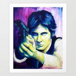 It's a Trap! Part 2: Han Solo Art Print