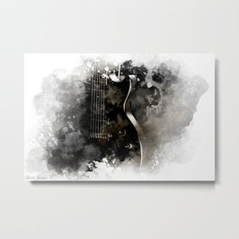 TUNED IN Metal Print