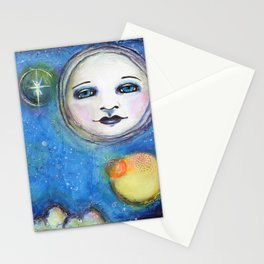 I'm a Dreamer art by Kae Pea Stationery Cards