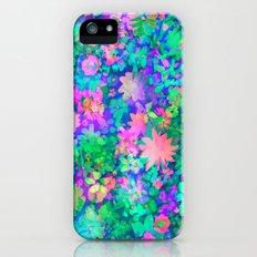 Fluro Floral Slim Case iPhone (5, 5s)