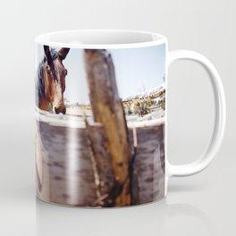 Horsehoe Blur Coffee Mug