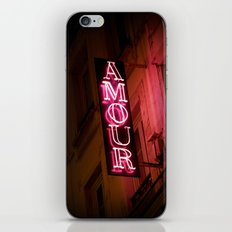 Oh l'amour iPhone & iPod Skin