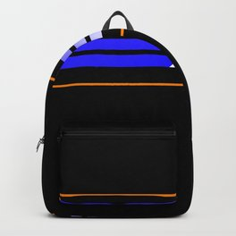 Team Colors 5 ,,,Blue,orange Backpack