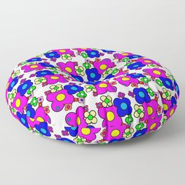 Celebrate Flowers Floor Pillow