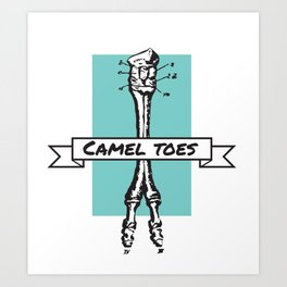 Camel Toess Art Print