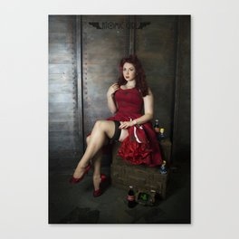Nuka Pin-up Girl 2 Canvas Print
