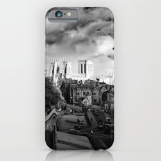 York Minster and walls in the sun iPhone 6s Slim Case