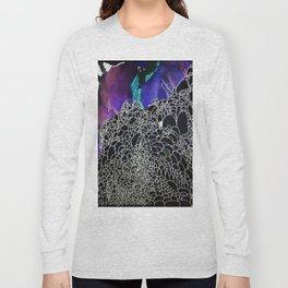 Mountain in black Long Sleeve T-shirt