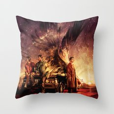 Carry On My Wayward Son Throw Pillow