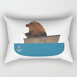 Fishing Trip Rectangular Pillow