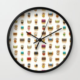 spools Wall Clock