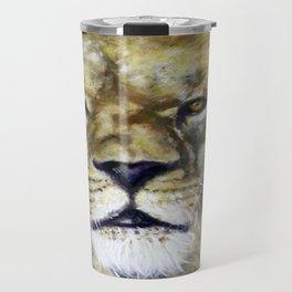 Title: Mesmerizing Lion King Travel Mug