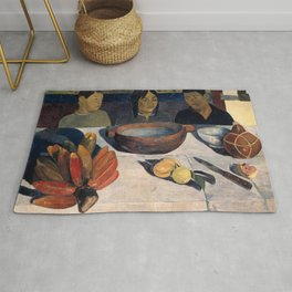 The Meal by Paul Gauguin Rug