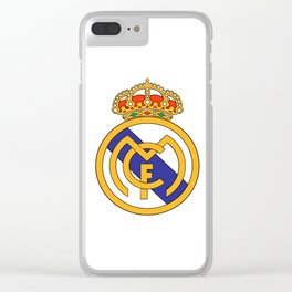Real Madrid Logo Clear iPhone Case