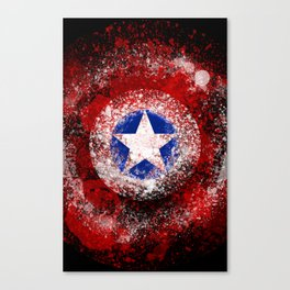 Avengers - Captain America Canvas Print