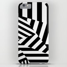 RADAR/ASDIC Black and White Graphic Dazzle Camouflage iPhone 6s Plus Slim Case
