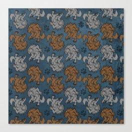 Werewolf tile Canvas Print