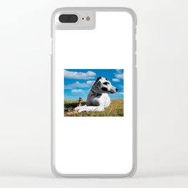 The Stick Keeper. Clear iPhone Case