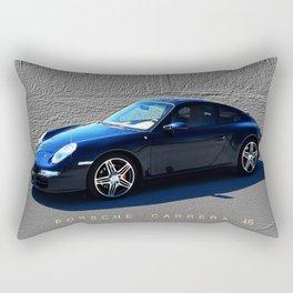 Porsche 911 - 997 Classic Car Rectangular Pillow