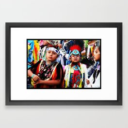 Taos N8tives Framed Art Print