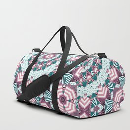 Rustic patchwork 2 Duffle Bag