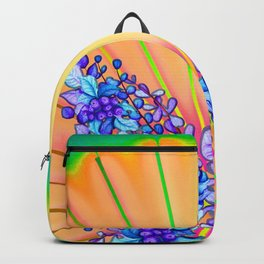 Psychedelic Butterfly Backpack