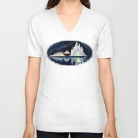 milwaukee V-neck T-shirts featuring Milwaukee Reflections by Kristiekoz