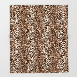 SAFARI LEO Throw Blanket