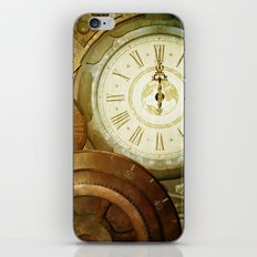 Steampunk, the clocks iPhone & iPod Skin
