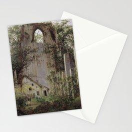 Caspar David Friedrich - Monastery Ruin, Eldena (1824) Stationery Cards