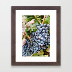 A Nice Virginia Red Framed Art Print