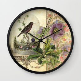 The Pet Bird Wall Clock