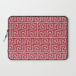 Oriental Symbol (Red & Silver) Laptop Sleeve
