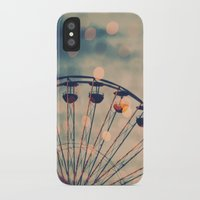 ferris wheel iPhone & iPod Cases featuring Ferris Wheel by Juste Pixx Photography