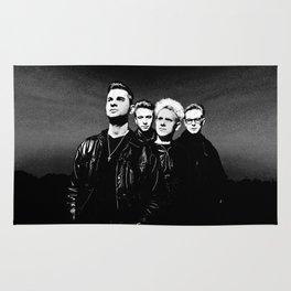 DM : 90's Dave, Alan, Martin, Andy Digitalpaint  Rug
