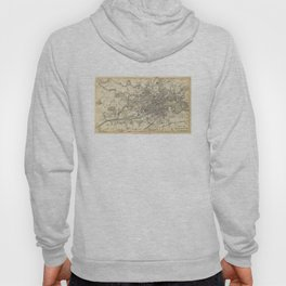 Vintage Map of Glasgow Scotland (1872) Hoody